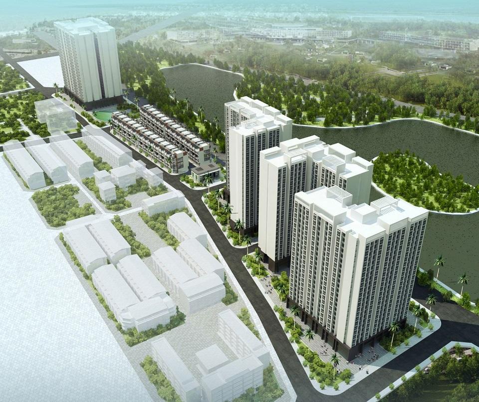 Dự án nhà ở xã hội Thượng Thanh Long Biên 2